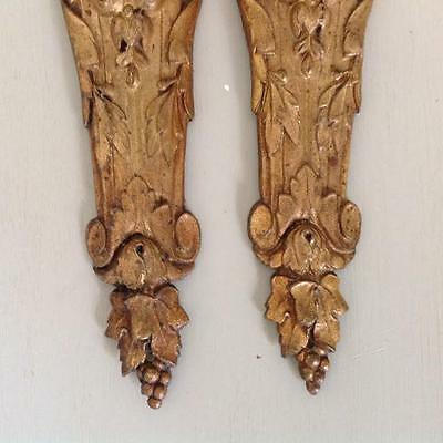 Antique french gilt metal embellishments