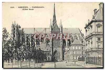 CPA Amiens Cathedrale Cote Sud