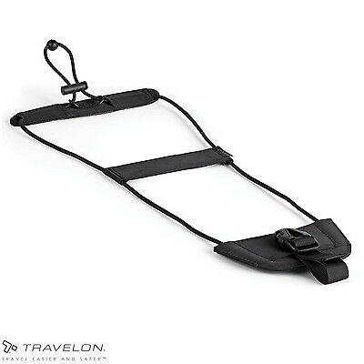 Bag Bungee Luggage by Travelon Black 1 Size Strap Secure Adjustable Travel Tool