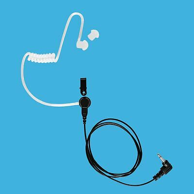 Commerical Use Receiving Only Earphone with 3.5mm Plug for Speaker Microphone