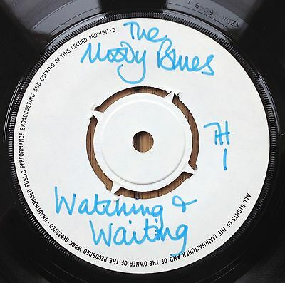 Moody Blues - Watching & Waiting - UK Demo - Threshold TH1 1969
