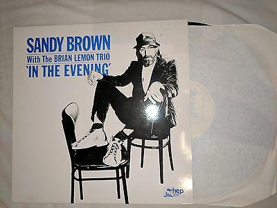 Sandy Brown With Brian Lemon Trio In The Evening – Hep 2017 – Lp Jazz Trad Dixie