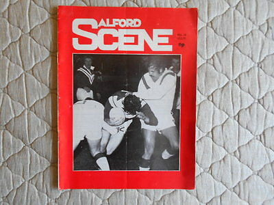 Salford V St Helens Rugby League Match Programme February 1973
