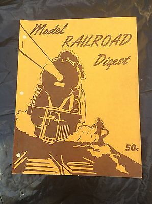 Model Railroad Digest, 98 pg Catalog, Pilot Model Shop Chicago, 1940's?
