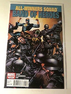 Band of Heroes #4 of 8  Marvel Modern Age  CB1893