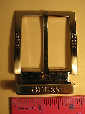 Guess Belt Buckle Good Used Condition Guess Buckle Only Free Shipping