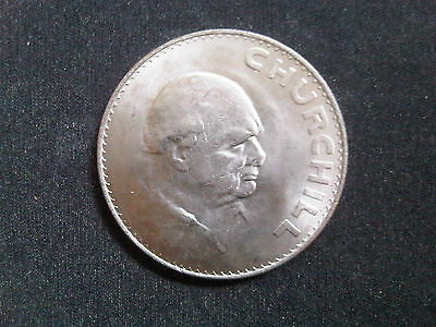Winston Churchill Commemorative 1965 Crown Coin