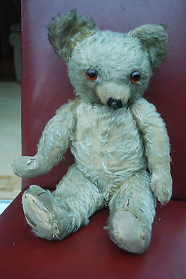Very Rare Antique Vintage Old Merrythought Teddy Bear - Early 1930s