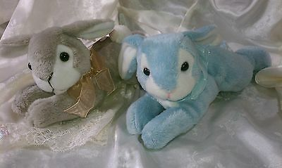 Easter Bunny Pair Laying Flat