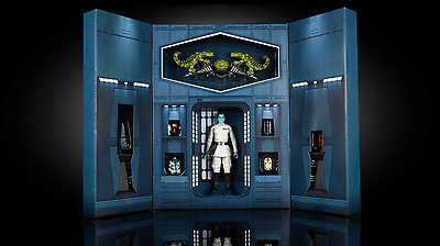 SDCC 2017 Hasbro STAR WARS Black Series GRAND ADMIRAL THRAWN 6-Inch Figure Set