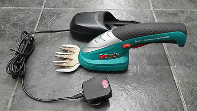 bosch isio trimmer Li-ION battery powered and charger 3.6V
