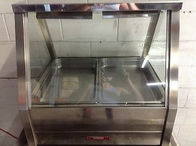 ROBAND  2 Bay WET BAIN MARIE HOT FOOD WARMER COMMERCIAL RESTAURANT CAFE