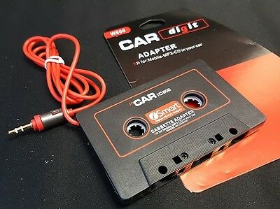 Cassette Adapter Audio Aux 3.5mm Male Connector Digital Music In Car or at Home