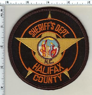 Halifax County Sheriff's Dept. (North Carolina) Shoulder Patch from 1987