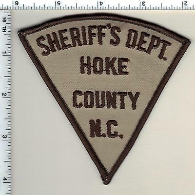 Hoke County Sheriff's Dept. (North Carolina) Shoulder Patch from 1987