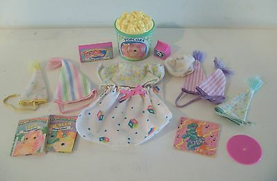 G1 My Little Pony Slumber Party Gift Pack Accessories Lot Vintage Hasbro MLP