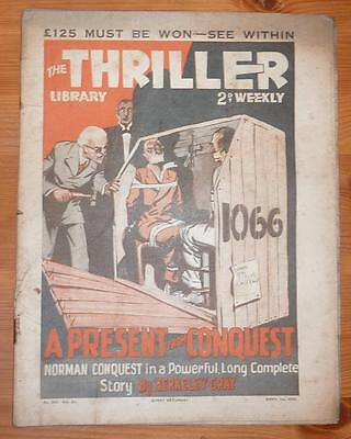THE THRILLER No 530 Vol 20 1ST APRIL 1939 A PRESENT FROM CONQUEST, BERKELEY GRAY