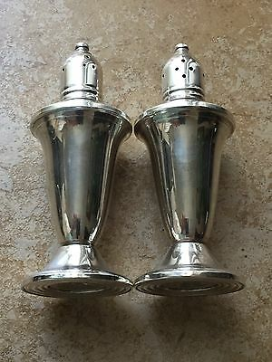 Sterling Silver Weighted Salt & Pepper Shakers