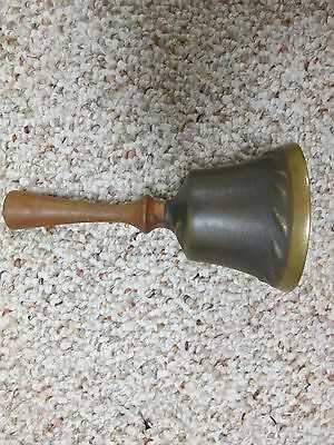 Vintage Brass service or teachers bell, excellent condition