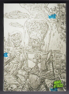 2015 MARS ATTACKS OCCUPATION Factory Sealed 45 Card Concept Art Parallel Set