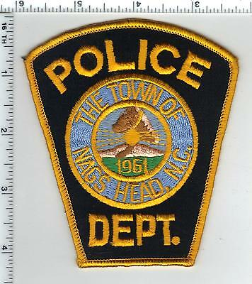 The Town of Nag's Head Police (North Carolina) Shoulder Patch - from the 1980's