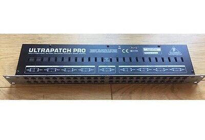 Behringer PX3000 Ultrapatch Pro Patchbay - 48 Point Balanced