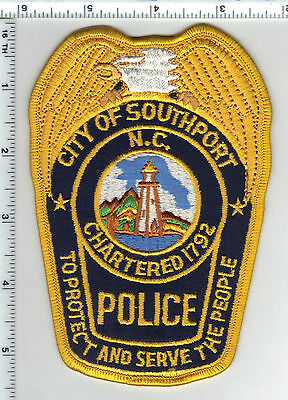 City of Southport Police (North Carolina) Shoulder Patch from the 1980's