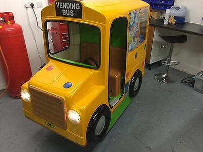 Coin Operated Vending Bus Kiddie Ride