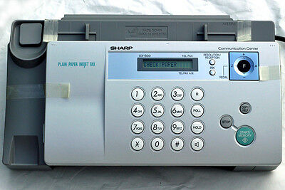NEW Sharp UX B30H Plain Paper Inkjet Fax. POWERS UP but UNTESTED.
