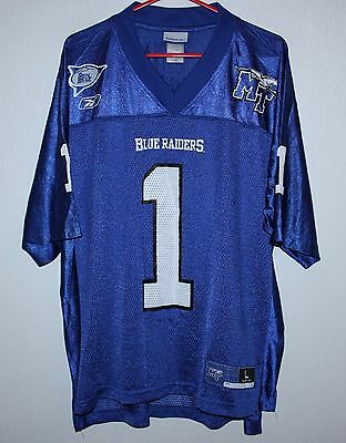 Middle Tennessee Blue Raiders NFL jersey #1 Reebok Size L