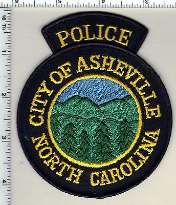 City of Asheville Police (North Carolina) Shoulder Patch new from 1990