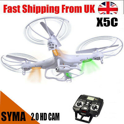 Syma X5C Explorers 2.4G 6-Axis Gyro RC Quadcopter Drone With HD Camera & Battery