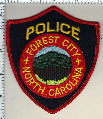 Forest City Police (North Carolina)  Shoulder Patch - from 1990