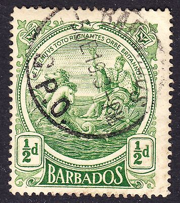 Barbados Scott 128  F to VF used with a beautiful SON cds.