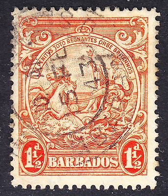 Barbados Scott 195  F to VF used with a beautiful SON period dated cds.