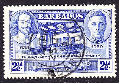 Barbados Scott 205  VF used with a nice SON cds.