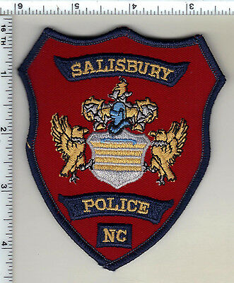 Salisbury Police (North Carolina)  Shoulder Patch - from 1990