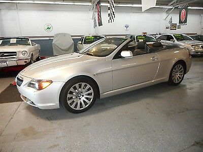 2004 BMW 6-Series  645 Ci Convertible two adult owners and ONLY 39,800 ORIGINAL MILES