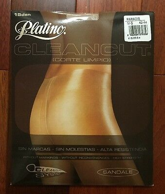 Platino CLEANCUT Sheer to Waist SILKY and GLOSSY Pantyhose/Tights*PARADIS  *XL*