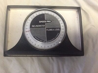Inclinometer Model 900 for Machinest Carpenters Metal workers Wood workers