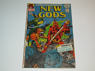 Dc Comics New Gods #7 1972 1St Appearance Steppenwolf - Jack Kirby Vg