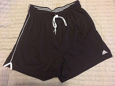 Adidas Youth XL Black Basketball Gym Workout Shorts FREE SHIPPING