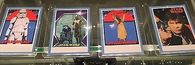 2017 Topps Star Wars Sugar Free 1978 Blue Parallel Card Lot 4 Cards