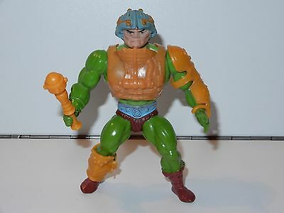 Motu He-Man Masters Of The Universe Man-At-Arms 100% Complete Mattel France Coo