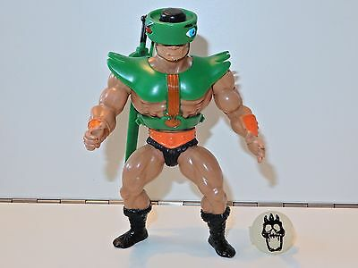MOTU HE-MAN MASTERS OF THE UNIVERSE TRI-KLOPS 100% COMPLETE w/ RING MALAYSIA