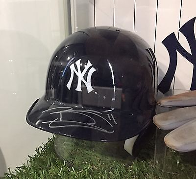 New York Yankees Brett Gardner Signed Helmet