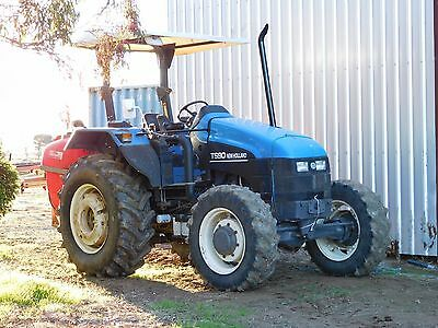 New Holland TS90 Tractor Open Cab