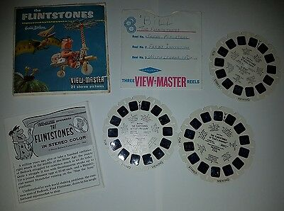 Viewmaster Reels The Flintstones 1962 Complete Set