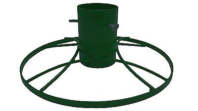 Bosmere 5-inch Contemporary Christmas Tree Stand with Green Sparkle
