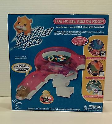 Zhu Zhu Pets Babies Toy Hamster Fun House add on room - Disco Room NEW
